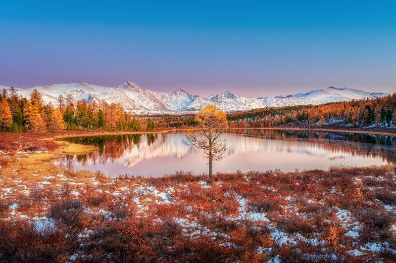 Алтай, Киделю После заката на оз.Киделюphoto preview