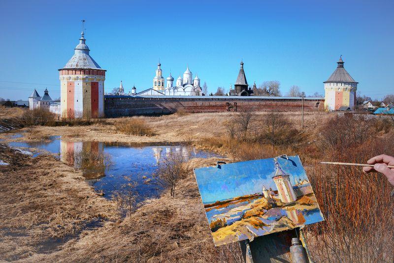 Под небом голубым есть древний монастырьphoto preview