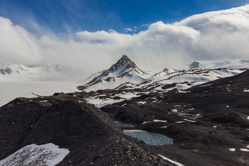 горы,восхождение,кавказ,облака пик Калицкогоphoto preview