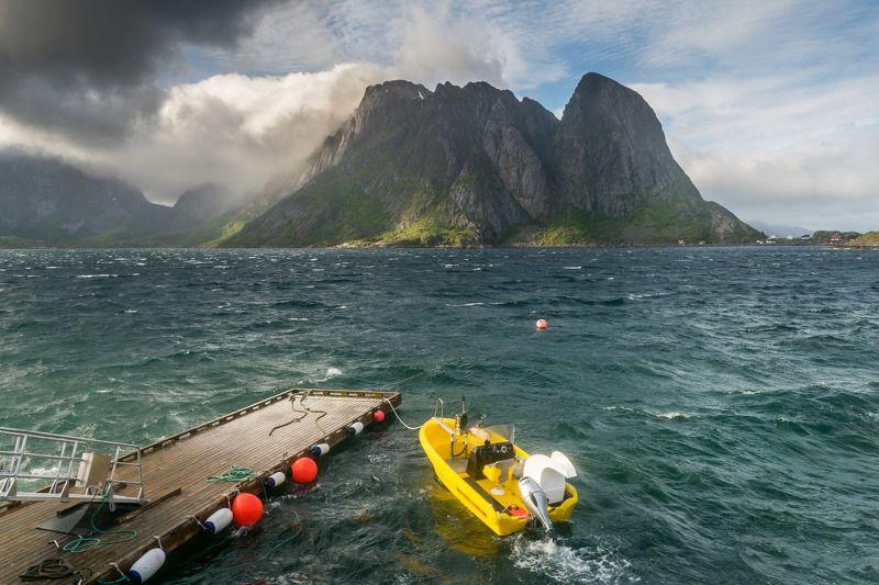 норвегия, лофотенские острова photo preview