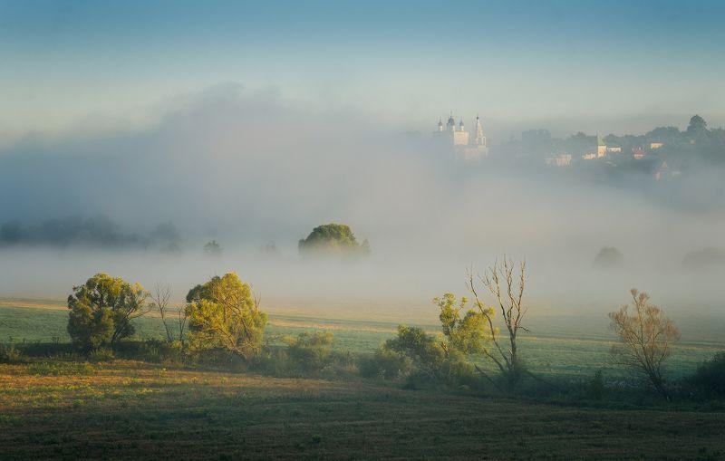 одоев, анастасово, утро, монастырь Утро у Анастасова монастыряphoto preview