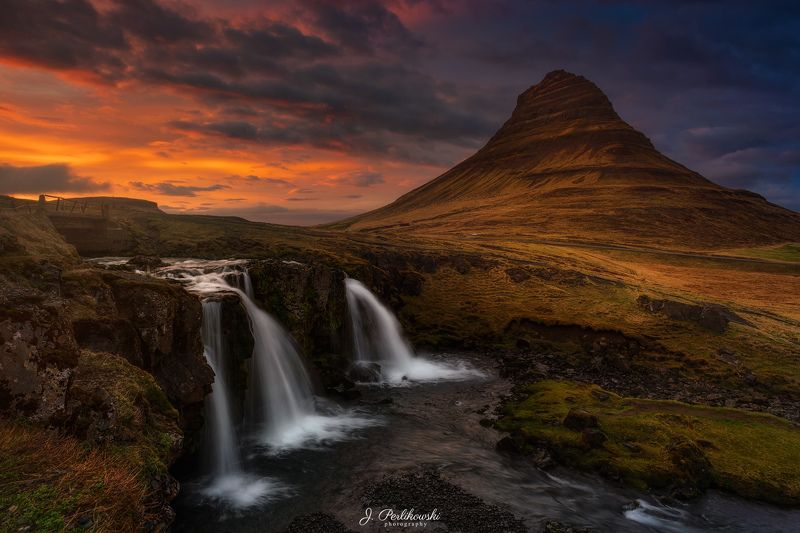 iceland, waterfall, mountains Icelandphoto preview