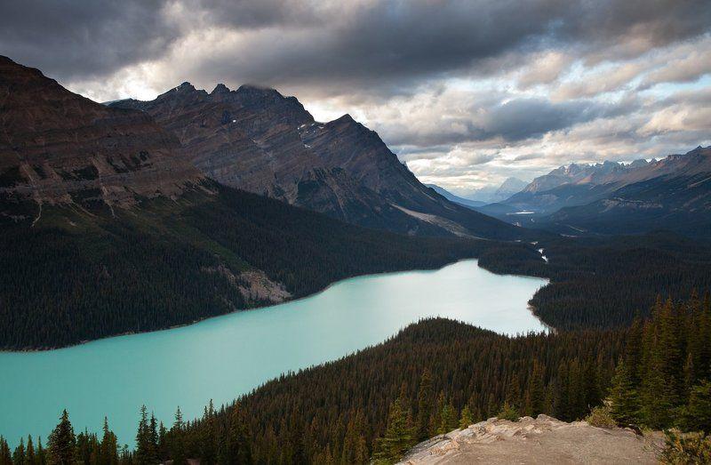 Canada, Lake, Mountains Peyto Lakephoto preview