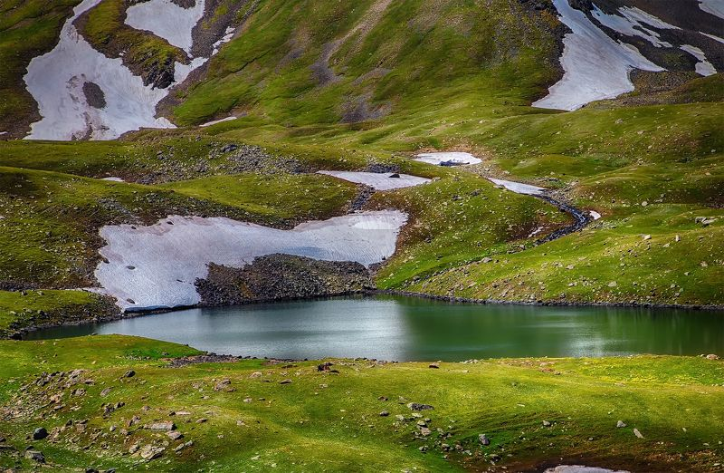 кыргызстан, горы Зеленоглазое летоphoto preview