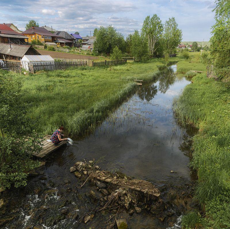 Деревенские будни. фото превью