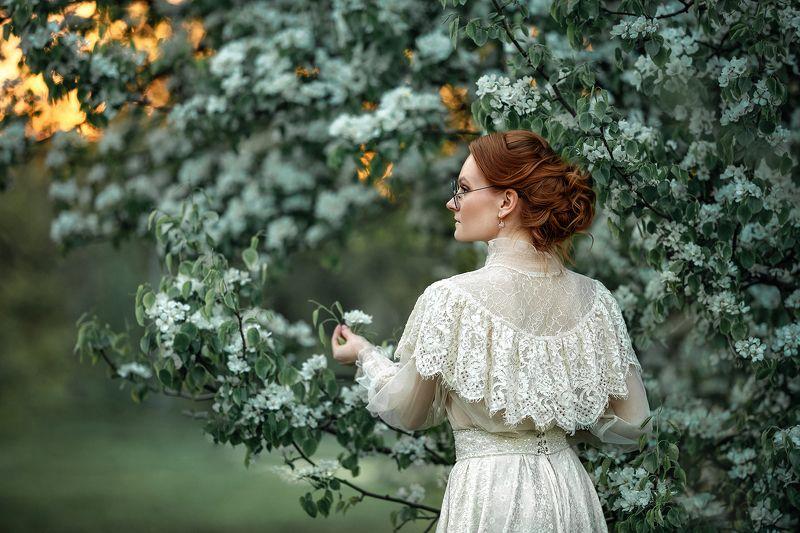 портрет девушка женский портрет тургеневская барышня Тургеневская барышня.photo preview