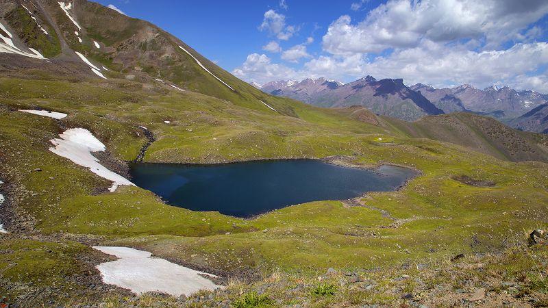 кыргызстан, горы Лето на высоте 3500мphoto preview