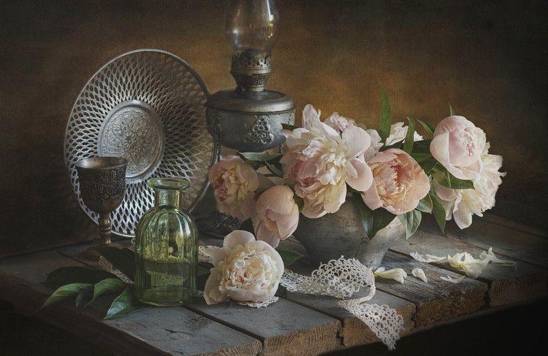 букет цветов, натюрморт, пионы, весна \