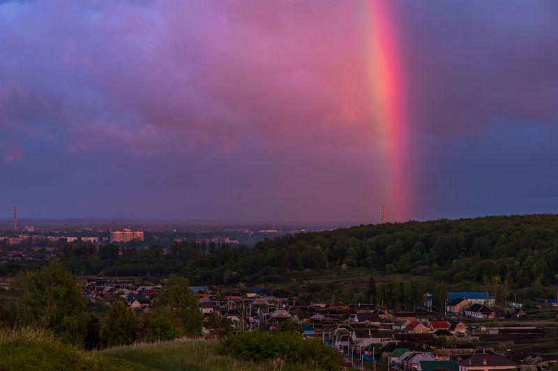 радуга, шебекино, крапивное, вечер После дождя.photo preview