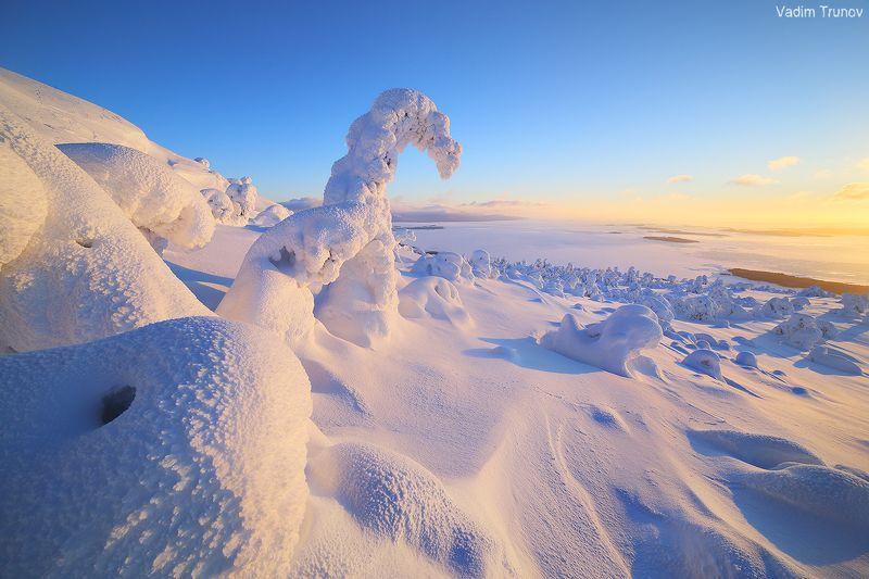 кольский, север, заполярье Зима на Кольскомphoto preview