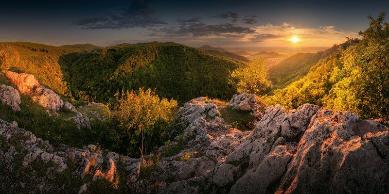 Evening in Little Carpathiansphoto preview