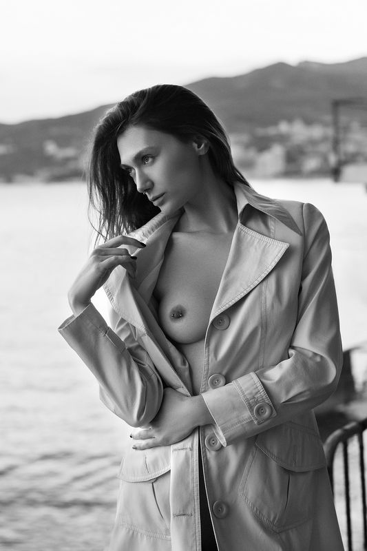 nude,b&w,девушка,ню,model,ч/б Ivy Poisonphoto preview