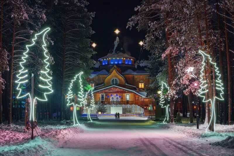 великий устюг, резиденция, вотчина, дед мороз, новый год Резиденция Деда Морозаphoto preview