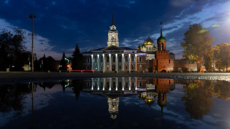 Отражения Тульского кремля.photo preview