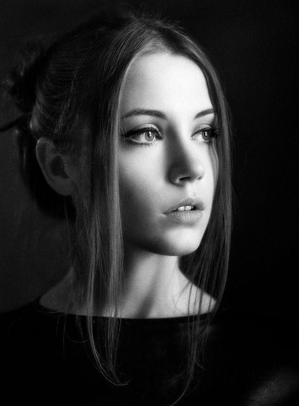 портрет;ч/б * * *photo preview