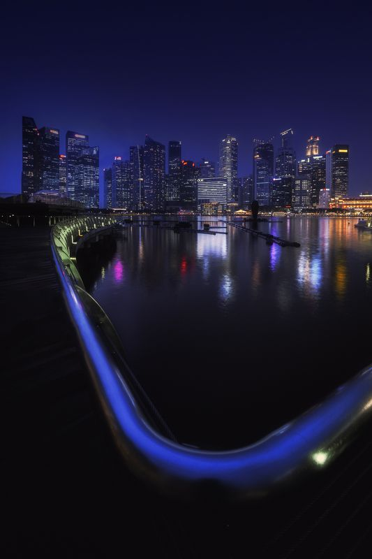 Singapore, Cityscape, city and architecture, architecture, city, asia, night Singaporephoto preview