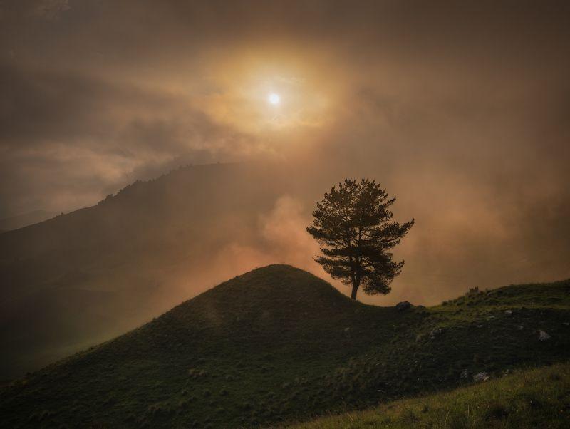 ингушетия, кавказ Волшебные облака Ингушетии.photo preview