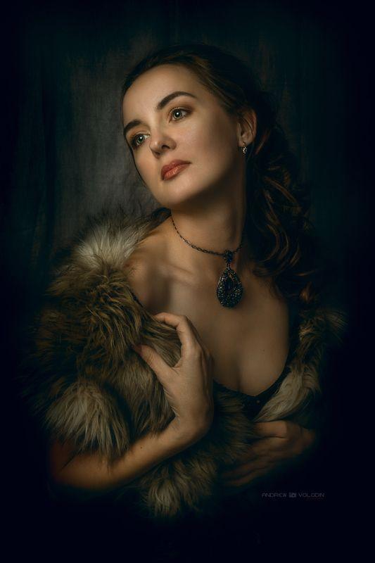 портрет девушка искусство живопись Портрет девушкиphoto preview