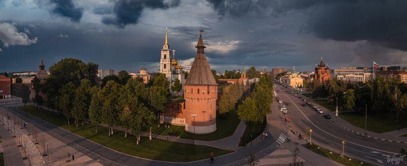 Гроза на Тульским Кремлём фото превью
