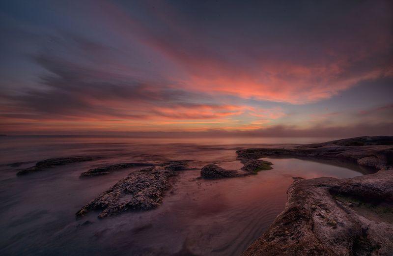 Sunrise on Black Sea Coastphoto preview