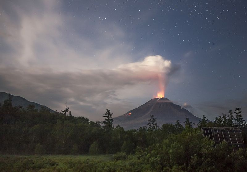 камчатка, вулкан, кизимен Кизименphoto preview