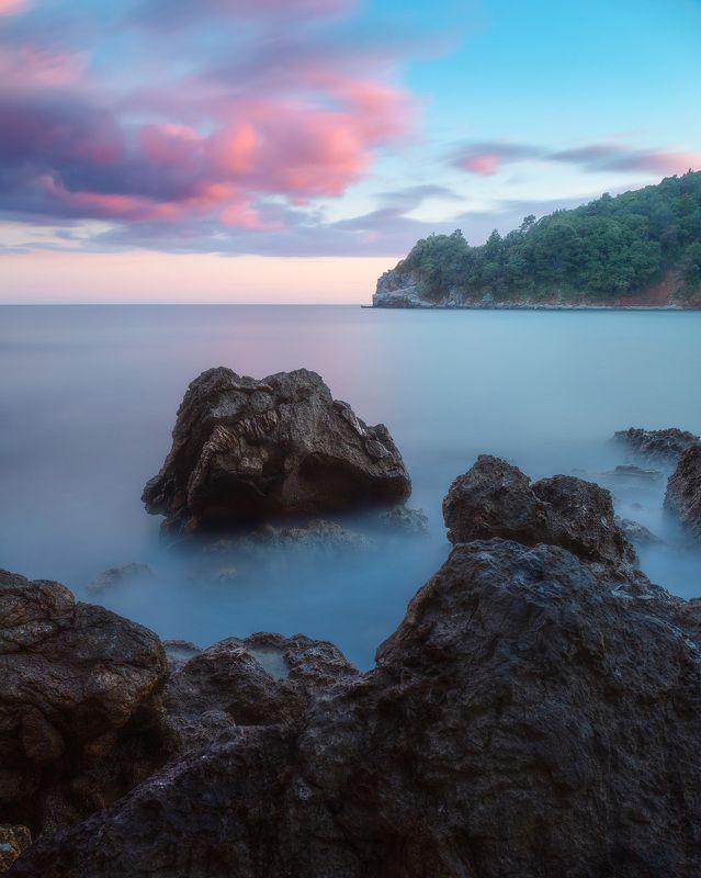 море, закат, пейзаж, seascape Морской закатphoto preview