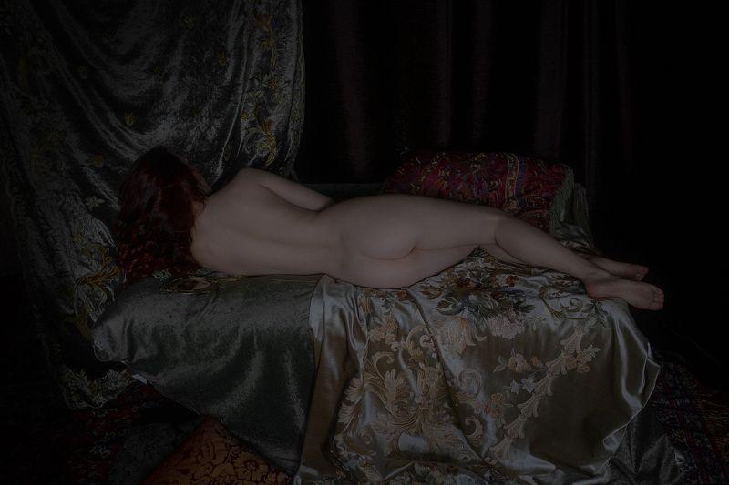 nude art girl Renaissancephoto preview
