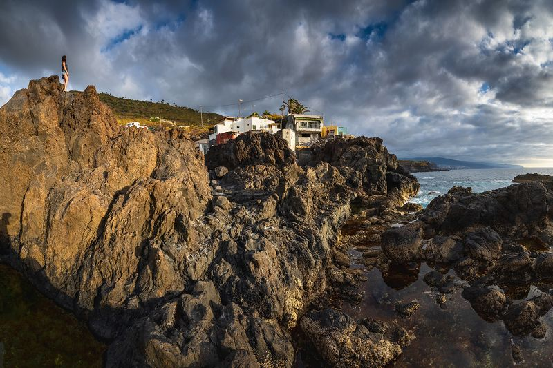 ocean, sunset, spain By the Oceanphoto preview