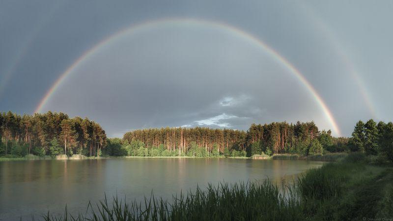 радуга, июнь, лето, дождь, вдохновение, украина, коростышев, первое озеро, ***photo preview
