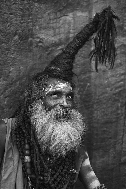 sadhu baba, the holy men, varanasi, india The Holy Menphoto preview
