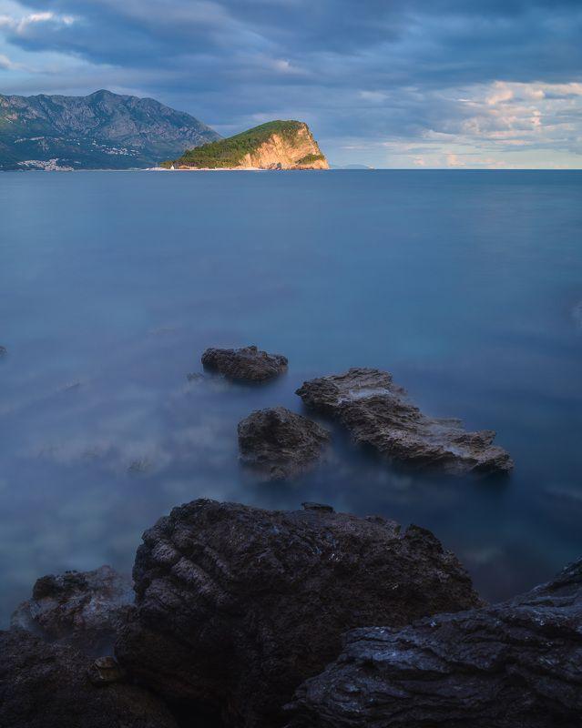 море, пейзаж, закат Морской закатphoto preview