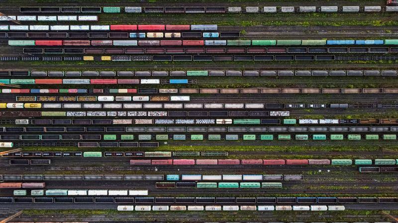 аэрофотография Timeline of a heavy project фото превью