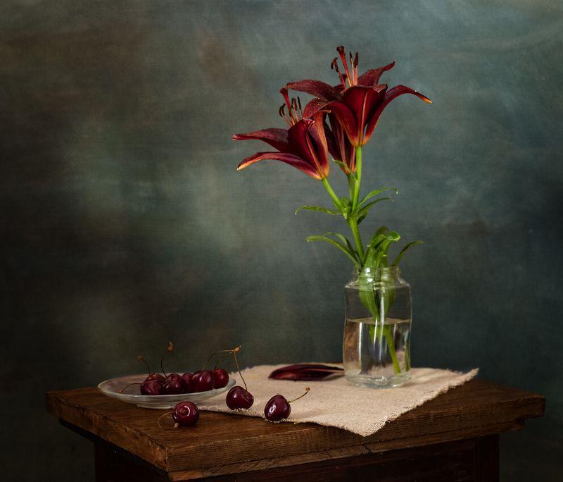 натюрморт, цветы, лилия Лилияphoto preview