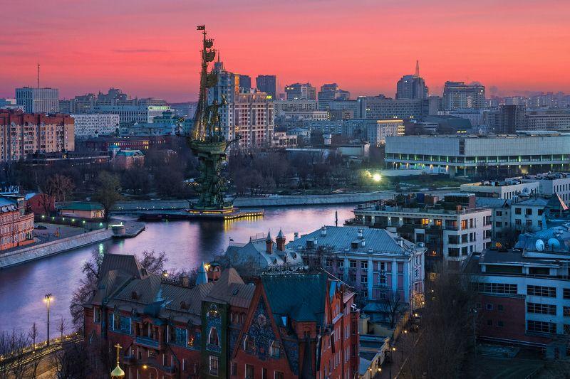 Москва с высотыphoto preview