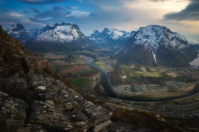 romsdal,mountains,valley,norway,springtime,rauma, From the topphoto preview