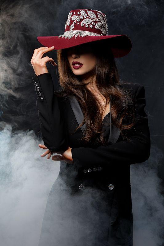 portrait, steam, portrait photography, noir, modeling Steam фото превью