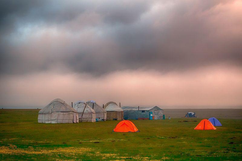 кыргызстан, горы И будет новый день...photo preview