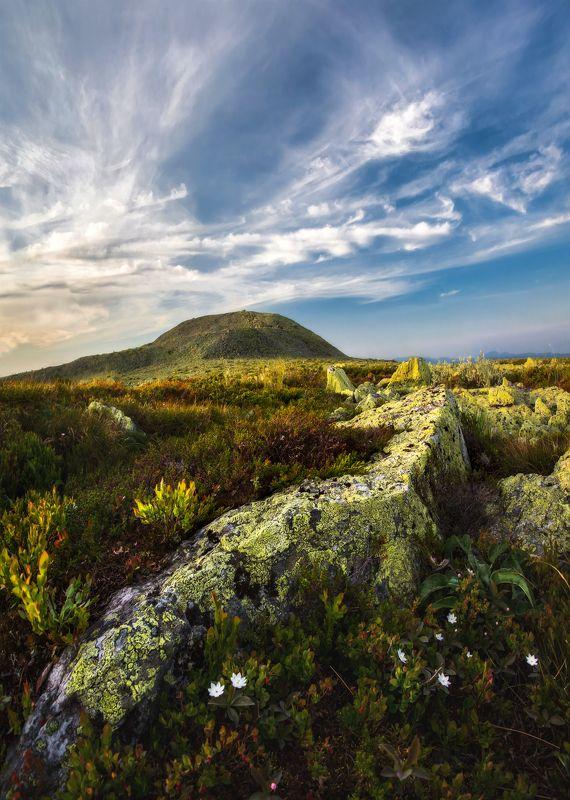 ослянка, урал, высочайшая точка, гора, горы, закат Ослянкаphoto preview