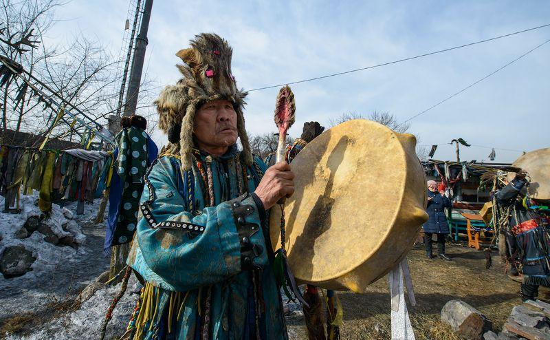 Обряд шаманов