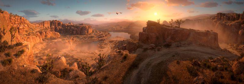 Закат на Диком Западеphoto preview