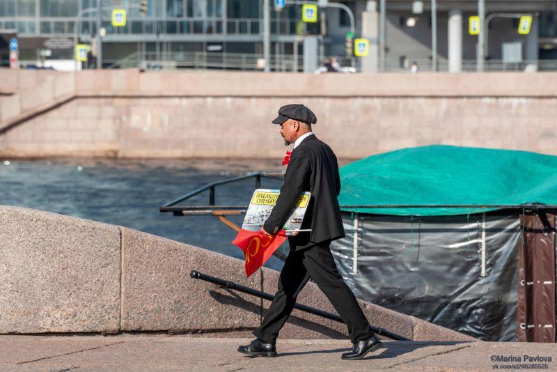 стритфото, репортаж, уличный портрет, город, люди, санкт-петербург, nikon Спешащий на работу \
