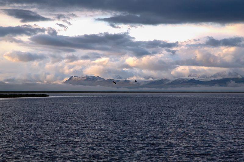 кыргызстан, горы, сон-куль, рассвет И будет новый день...photo preview
