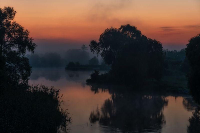 шебекино, титовка, рассвет, река нежеголь, shebekino, titovka, dawn, nezhegol river В предрассветной тишине.photo preview