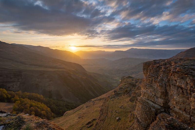 дагестан, кавказ, матлас, закат Дагестан, Матласphoto preview