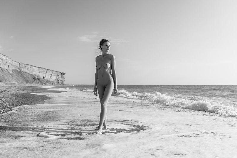 nude,b&w,девушка,ню,model,ч/б Seaphoto preview