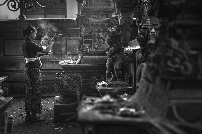 Ubud, Bali Morning Prayerphoto preview