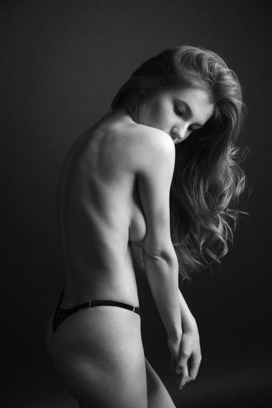 portrait woman studio sexy Аняphoto preview