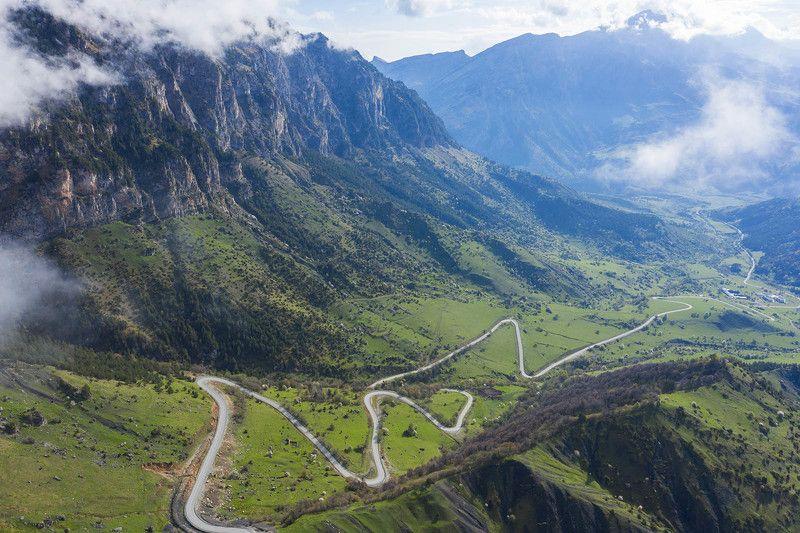Ингушетия, Кавказ, перевал Цей-Лоам Выше облаковphoto preview