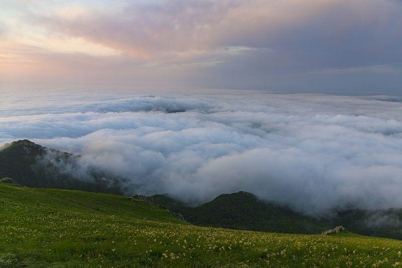 облака,ветер,бештау,вершина,природа,пейзаж Облачный штормphoto preview