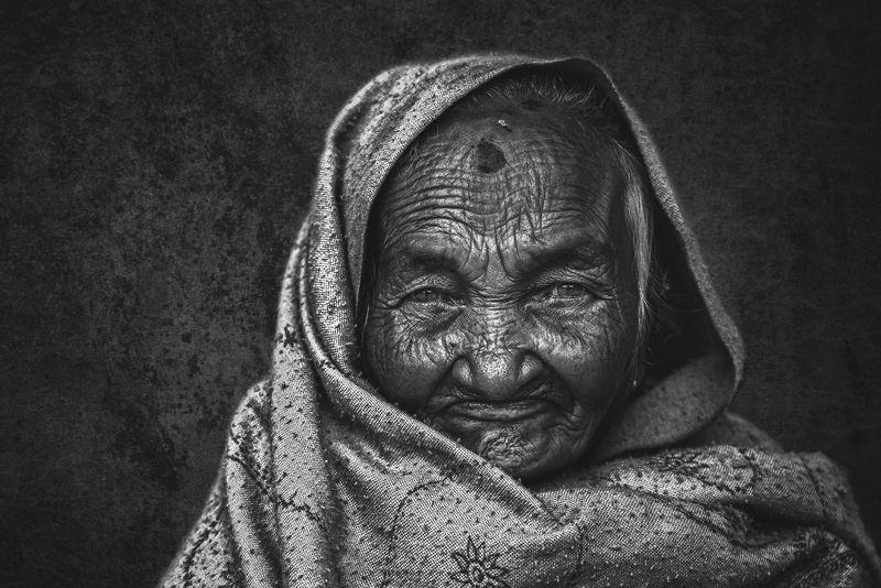Kathmandu, Nepal Portrait of Nepalphoto preview